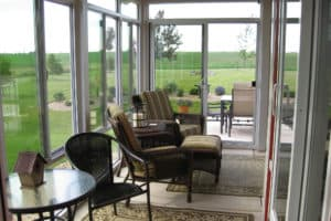 Beautiful Patio and Porch Enclosure Conversion