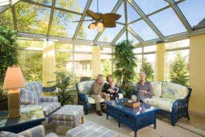 Family Sunroom Additions Madison WI Interior 6