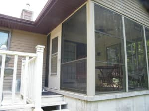 Porch and Patio Enclosures Madison WI After