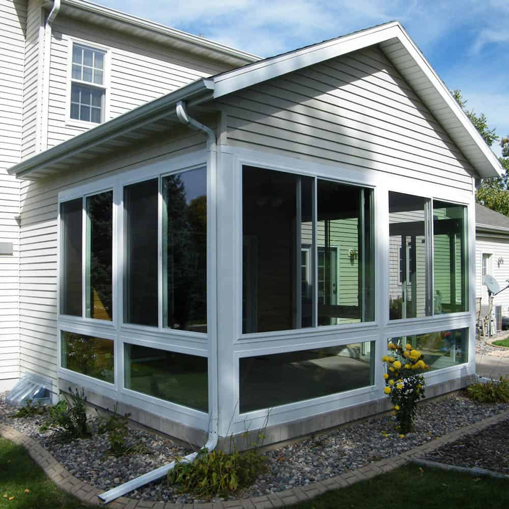 Porch Conversion Enclosures Madison WI