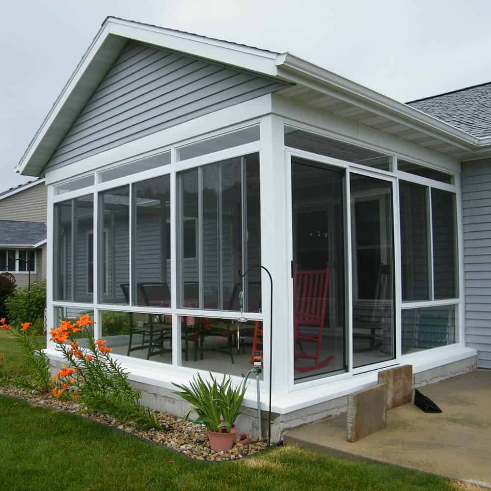 Porch and Patio Conversion Madison WI Makeover