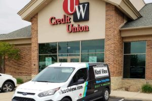 Commercial Window Tint Madison WI UW Credit Union