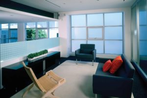 Commercial Window Tinting Madison WI Sitting Area
