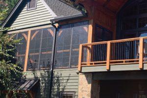 Porch Conversions Memory Vinyl Windows Big Cabin 3