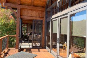 Porch Conversions Memory Vinyl Windows Big Cabin 4