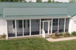 Porch Conversions Memory Vinyl Windows Green Roof