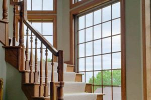 Residential-Window-Tint-Madison-WI-Stairway
