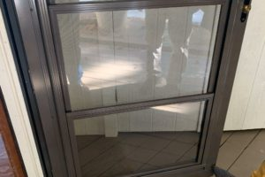 Three Season Sunroom Addition Screen Room Door