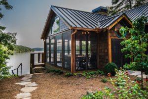 Three Season Sunroom Addition Wood Lake House 2