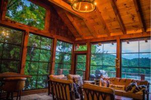Three Season Sunroom Madison WI Wood Lake House